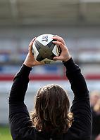 18th March 2021;  John Andrew during Ulster Rugby Captain's Run held at Kingspan Stadium, Ravenhill Park, Belfast, Northern Ireland. Photo by John Dickson/Dicksondigital