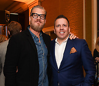 2020 FOX WINTER TCA: L-R: DEPUTY cast member Brian Van Holt and Executive Producer Chris Long celebrate at the FOX WINTER TCA ALL-STAR PARTY during the 2020 FOX WINTER TCA at the Langham Hotel, Tuesday, Jan. 7 in Pasadena, CA. © 2020 Fox Media LLC. CR: Frank Micelotta/FOX/PictureGroup