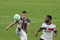 RIO DE JANEIRO (RJ), 09/09/2020 - FLUMINENSE - FLAMENGO - Calegari  (e), do Fluminense. Partida entre Fluminense e Flamengo, válida pela 9ª rodada do Campeonato Brasileiro 2020, realizada no Estádio do Maracanã, nesta quarta-feira (09).