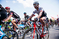 Castellon, SPAIN - SEPTEMBER 7: Start race during LA Vuelta 2016 on September 7, 2016 in Castellon, Spain