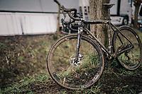 post-race bike<br /> <br /> Junior Men's Race<br /> Belgian National CX Championschips<br /> Kruibeke 2019