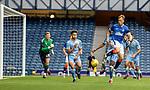 25.07.2020 Rangers v Coventry City: Scott Arfield tries a back heel