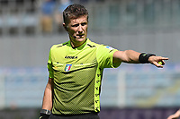 Referee Daniele Orsato reacts during the Serie A football match between UC Sampdoria and FC Internazionale at stadio Marassi in Genova (Italy), September 12th, 2021. Photo Image Sport / Insidefoto