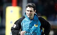 Photo: Richard Lane/Richard Lane Photography. Gloucester Rugby v London Wasps. Aviva Premiership. 02/11/2013 Wasps Backs Coach, Stephen Jones.