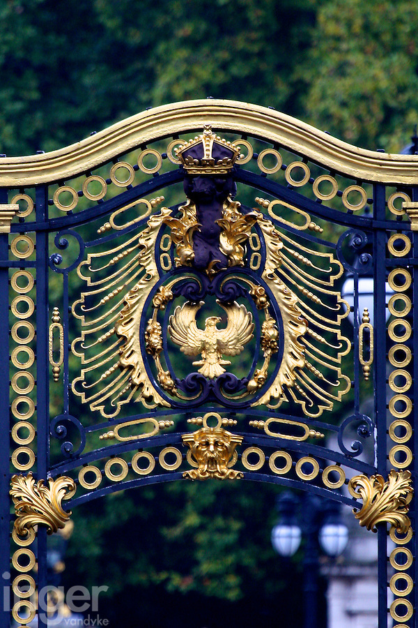 Buckingham Palace Gate in London, United Kingdom