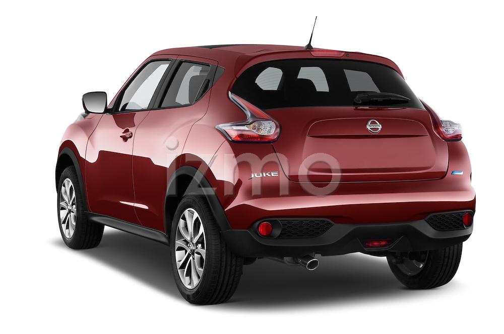Car pictures of rear three quarter view of 2017 Nissan JUKE SV 5 Door SUV Angular Rear