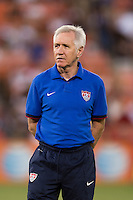 Tom Sermanni. The USWNT defeated Mexico, 7-0, during an international friendly at RFK Stadium in Washington, DC.  The USWNT defeated Mexico, 7-0.
