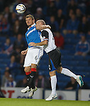 Lee McCulloch and David Raven