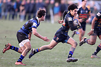 Action from the Miles Toyota Championship 1st XV School Boy Rugby, match between St Thomas and Christchurch Boys High School at St Thomas College in Christchurch, New Zealand on Saturday, 26 June 2021. Photo: Martin Hunter / lintottphoto.co.nz