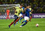 Colombia igualó 1-1 ante Brasil. Preolímpico Sub-23.