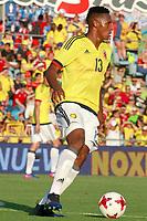 Colombia's Yerri Mina during international friendly match. June 13,2017.(ALTERPHOTOS/Acero) (NortePhoto.com) (NortePhoto.com)