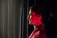 """Rosa Luxemburg-Konferenz 2016 am Samstag den 9. Januar 2016.<br /> Ueber 2500 Menschen sollen nach Angaben des Veranstalters, der Tagenszeitung """"junge Welt"""", zur 21 Rosa Luxemburg-Konferenz gekommen sein. Linke Verlage und Organisationen praesentierten sich den Konferenzbesuchern.<br /> Im Bild: Sahra Wagenknecht, Fraktionsvorsitzende der Linkspartei im Deutschen Bundestag sprach ueber die Perspektiven linker Politik.<br /> 9.1.2016, Berlin<br /> Copyright: Christian-Ditsch.de<br /> [Inhaltsveraendernde Manipulation des Fotos nur nach ausdruecklicher Genehmigung des Fotografen. Vereinbarungen ueber Abtretung von Persoenlichkeitsrechten/Model Release der abgebildeten Person/Personen liegen nicht vor. NO MODEL RELEASE! Nur fuer Redaktionelle Zwecke. Don't publish without copyright Christian-Ditsch.de, Veroeffentlichung nur mit Fotografennennung, sowie gegen Honorar, MwSt. und Beleg. Konto: I N G - D i B a, IBAN DE58500105175400192269, BIC INGDDEFFXXX, Kontakt: post@christian-ditsch.de<br /> Bei der Bearbeitung der Dateiinformationen darf die Urheberkennzeichnung in den EXIF- und  IPTC-Daten nicht entfernt werden, diese sind in digitalen Medien nach §95c UrhG rechtlich geschuetzt. Der Urhebervermerk wird gemaess §13 UrhG verlangt.]"""