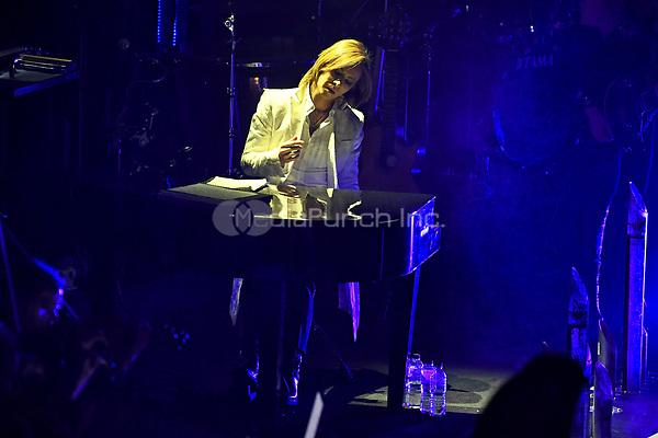 LONDON, ENGLAND - NOVEMBER 11: Yoshiki (Yoshiki Hayashi) performing at Royal Albert Hall on November 11, 2019 in London, England.<br /> CAP/MAR<br /> ©MAR/Capital Pictures /MediaPunch ***NORTH AMERICAS ONLY***