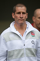 Stuart Lancaster, England Team Manager, looks on before the Cook Cup between England and Australia, part of the QBE International series, at Twickenham on Saturday 17th November 2012 (Photo by Rob Munro)