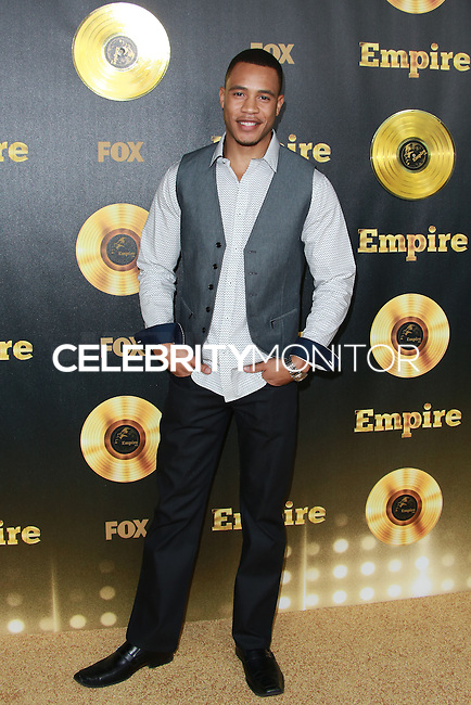 HOLLYWOOD, LOS ANGELES, CA, USA - JANUARY 06: Trai Byers at the Los Angeles Premiere Of FOX's 'Empire' held at ArcLight Cinemas Cinerama Dome on January 6, 2015 in Hollywood, Los Angeles, California, United States. (Photo by David Acosta/Celebrity Monitor)