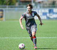20140419 - ANTWERPEN , BELGIUM : Standard's Maud Coutereels pictured during the soccer match between the women teams of RAFC Antwerp Ladies  and Standard Femina  , on the 24th matchday of the BeNeleague competition on Saturday 19 April 2014 in Deurne .  PHOTO DAVID CATRY