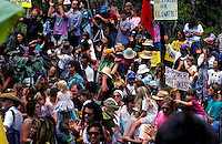 Anti-geo protest; 141 arrests; Wao kele o puna rainforest, Puna, Hawaii