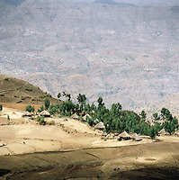 Hamer village, Maji, Lower Omo Valley, Southern Ethiopia