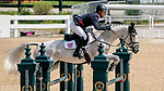 April 25, 2021: Oliver Townend competes during a double clear round in the Stadium Jumping finals to win the Land Rover 5* 3-Day Event aboard Ballaghmor Class at the Kentucky Horse Park in Lexington, Kentucky. Scott Serio/Eclipse Sportswire/CSM