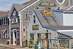 Woods Hole in Falmouth, Cape Cod, Massachusetts, USA
