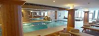 """Europe/France/73/Savoie/Val d'Isère: Hotel """"Les Barmes de l'Ours"""" le Spa et la piscine"""