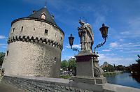 Broel-Tuerme ( Broels Torens) in Kortrijk, Flandern, Belgien