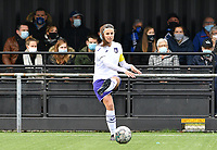 Laura De Neve (8 Anderlecht) pictured during a female soccer game between Club Brugge Dames YLA and RSC Anderlecht Ladies on the fifth matchday of the 2020 - 2021 season of Belgian Scooore Womens Super League , sunday 18 October 2020  in Brugge , Belgium . PHOTO SPORTPIX.BE | SPP | DAVID CATRY