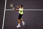 BANGKOK, THAILAND - OCTOBER 02:  Rafael Nadal of Spain in action during his match against compatriot Guillermo Garcia-Lopez during the Day 8 of the PTT Thailand Open at Impact Arena on October 2, 2010 in Bangkok, Thailand.  Photo by Victor Fraile / The Power of Sport Images