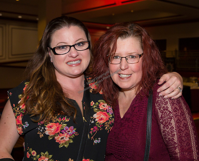 Brooke Berrett and Dena Lindses at the IMomSoHard show on Saturday, March 3, 2018 at the Silver Legacy Resort Casino.