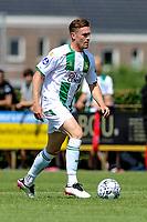 LEEK - Voetbal, Pelikaan S - FC Groningen , voorbereiding seizoen 2021-2022, oefenduel, 03-07-2021, FC Groningen speler Wessel Dammers