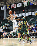 USF tops Tulane, 53-40, in women's basketball action at Devlin Fieldhouse.