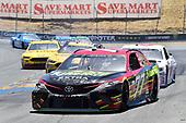 Monster Energy NASCAR Cup Series<br /> Toyota/Save Mart 350<br /> Sonoma Raceway, Sonoma, CA USA<br /> Sunday 25 June 2017<br /> Erik Jones, Furniture Row Racing, 5-hour ENERGY Extra Strength Toyota Camry, Trevor Bayne, Roush Fenway Racing, AdvoCare Ford Fusion<br /> World Copyright: John K Harrelson<br /> LAT Images