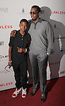HOLLYWOOD, CA - AUGUST 22: Sean Combs and son Quincy arrive at the 'Lawless' Los Angeles Premiere at ArcLight Cinemas on August 22, 2012 in Hollywood, California. /NortePhoto.com....**CREDITO*OBLIGATORIO** *No*Venta*A*Terceros*..*No*Sale*So*third* ***No*Se*Permite*Hacer Archivo***No*Sale*So*third*