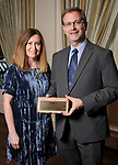 "Michael Goforth and his wife Ginger representing Development Services Group at Preservation Houston's ""The Cornerstone Dinner""  presenting the 2018 Good Brick Awards at the River Oaks Country Club Friday March 02,2018. (Dave Rossman Photo)"