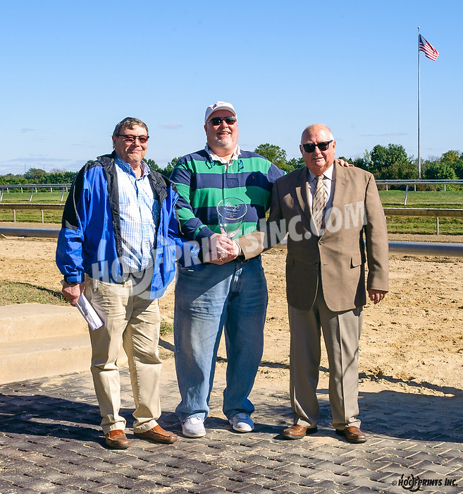 Joseph E. Besceker, leading owner at Delaware Park in 2019 with 20 wins