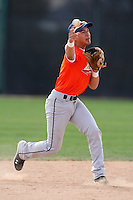 January 16, 2010:  Fabian Chirino (Hialeah Gardnen, FL) of the Baseball Factory Florida Team during the 2010 Under Armour Pre-Season All-America Tournament at Kino Sports Complex in Tucson, AZ.  Photo By Mike Janes/Four Seam Images