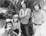 Bread 1972 Mike Botts, Larry Knechtal, James (Jimmy) Griffin, David Gates.© Chris Walter.