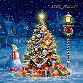 Marcello, CHRISTMAS SYMBOLS, WEIHNACHTEN SYMBOLE, NAVIDAD SÍMBOLOS,winterlandsscape, paintings+++++,ITMCXM2187,#xx#