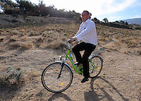 Pictured: Andy Lines of the Daily Mirror newspaper in Kos, Greece. Monday 10 October 2016<br /> Re: Police teams led by South Yorkshire Police are searching for missing toddler Ben Needham on the Greek island of Kos.<br /> Ben, from Sheffield, was 21 months old when he disappeared on 24 July 1991 during a family holiday.<br /> Digging has begun at a new site after a fresh line of inquiry suggested he could have been crushed by a digger.