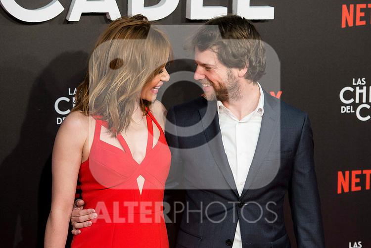 """Maria Adanez and Nacho Medrano attends to """"Las chicas del cable"""" premiere at Callao Cinemas in Madrid, April 27, 2017. Spain.<br /> (ALTERPHOTOS/BorjaB.Hojas)"""