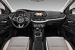 Stock photo of straight dashboard view of 2016 Fiat Tipo Easy 4 Door Sedan Dashboard