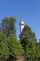 Leuchtturm von Mikeltornis, Lettland, Europa