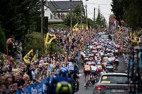 huge crowds up the Smeysberg<br /> <br /> Elite Men World Championships - Road Race<br /> from Antwerp to Leuven (268.3km)<br /> <br /> UCI Road World Championships - Flanders Belgium 2021<br /> <br /> ©kramon