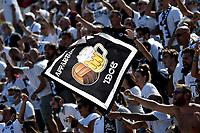 Spezia fans cheer on during the Serie A football match between Spezia Calcio and Udinese Calcio at Alberto Picco stadium in La Spezia (Italy), September 12th, 2021. Photo Andrea Staccioli / Insidefoto