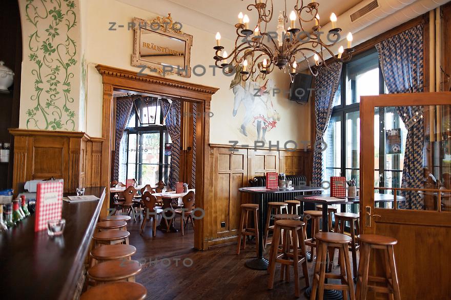 Portrait von Kramer Gastronomie im Restaurant Bayerischer Hof an der .Herdernstrasse 56 in Zuerich am 11. Juni 2012..Copyright © Zvonimir Pisonic
