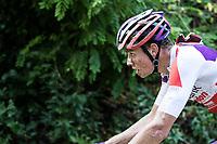 eventual race winner Mathieu van der Poel (NED/Beobank-Corendon) charging ahead<br /> <br /> Dwars door het Hageland (1.1)<br /> 1 Day Race: Aarschot > Diest (194km)