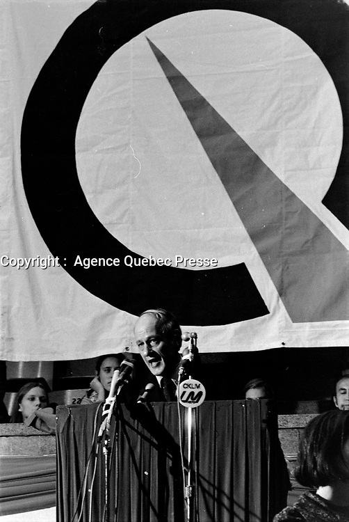 Rene Levesque<br /> ,  Entre le 13 et le 19 octobre 1969<br /> <br /> Photographe : Photo Moderne<br /> - Agence Quebec Presse