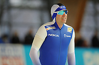 SPEEDSKATING: ERFURT: 19-01-2018, ISU World Cup, 500m Men A Division, Mika Poutala (FIN), photo: Martin de Jong