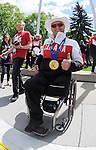 Calgary, AB - June 6 2014 - Wheelchair Curling's Dennis Thiessen during the Celebration of Excellence Parade of Champions. (Photo: Matthew Murnaghan/Canadian Paralympic Committee)