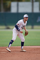 Cole Foster (30) during the WWBA World Championship at the Roger Dean Complex on October 11, 2019 in Jupiter, Florida.  Cole Foster attends Plano Senior High School in Plano, TX and is committed to Auburn.  (Mike Janes/Four Seam Images)